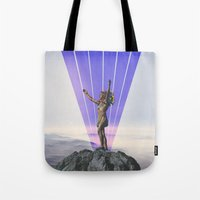indian Tote Bags featuring indian by •ntpl•