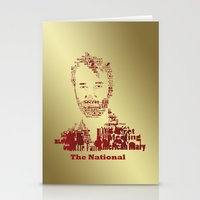 the national Stationery Cards featuring The National by Luke Eckstein