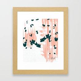 Morning Blooms Framed Art Print