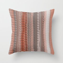Country Red Blanket Throw Pillow