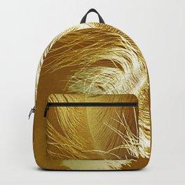 Golden Ostrich Backpack
