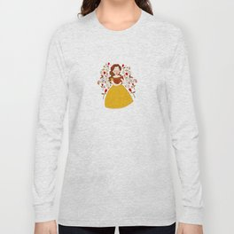 Rumbelle - Belle bookworm Long Sleeve T-shirt