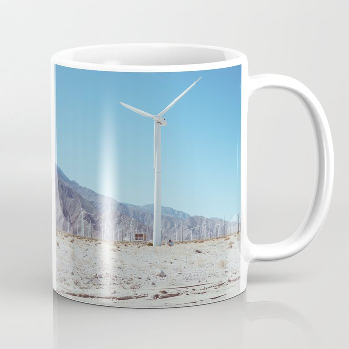 Palm Springs Windmills III Coffee Mug