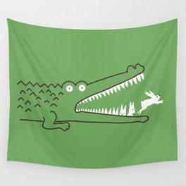 Mr. Croc's Nightmare Wall Tapestry