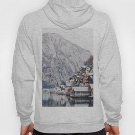 VILLAGE - COAST - MOUNTAINS - SNOW - PHOTOGRAPHY Hoody
