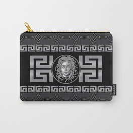Medusa Silver Carry-All Pouch