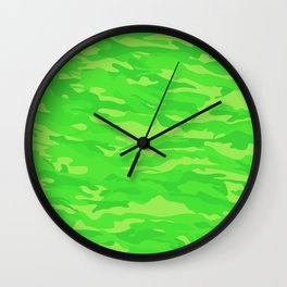 camuflaje 7 Wall Clock