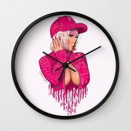 FENDIPRINT ONIKA Wall Clock