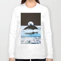 dolphin Long Sleeve T-shirts featuring Dolphin by John Turck