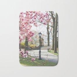 Spring in Central Park Bath Mat