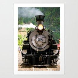 DSNGRR Engine Art Print
