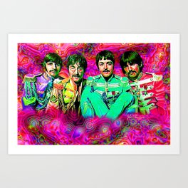 Sgt. Pepper's Lonely Hearts Club Band Art Print