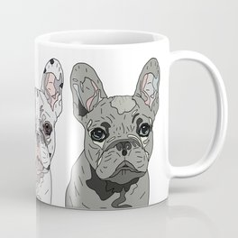 Triple Frenchies Coffee Mug