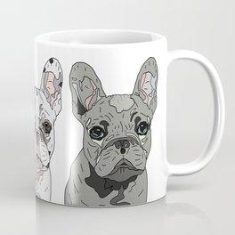 Triple Frenchies Coffee Mug