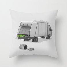 Accident on Sesame St.  Throw Pillow