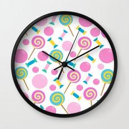 Candy 2 Wall Clock