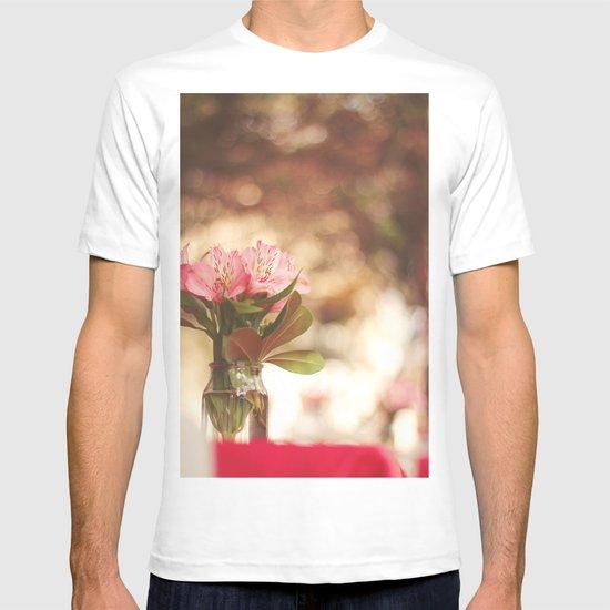 Under a bokeh sky T-shirt