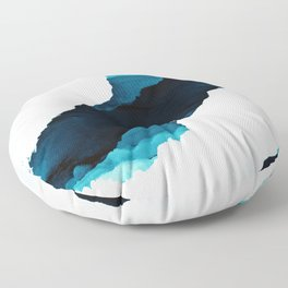 Teal Isolation Floor Pillow