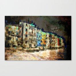 The Essence of Croatia - The Dark Side of Rovinj Canvas Print