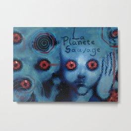 La Planete Sauvage Metal Print