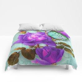 Victoria in Purple Comforters