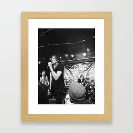 Richie Ramone Framed Art Print
