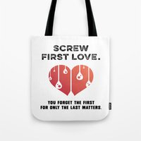 First Love [BLACK] Tote Bag