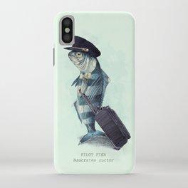 The Pilot (colour option) iPhone Case