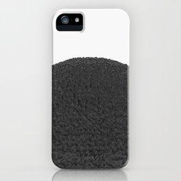 Black sphere iPhone Case