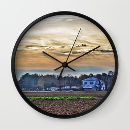 An Odd Day in My Home Town Wall Clock