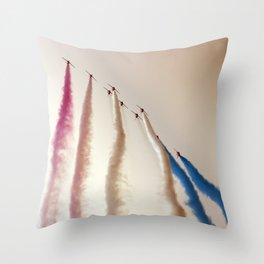 Vanilla sky Throw Pillow