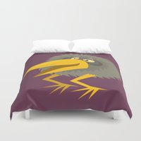 kiwi Duvet Covers featuring Kiwi by Steve Steiner