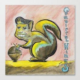 Squirrel Hines Canvas Print