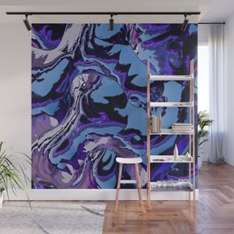 Electrifying Lavender Wall Mural