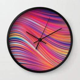 Liquid Abstract Paint Texture Wall Clock