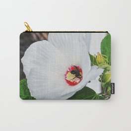 The Flower and the Bee Carry-All Pouch