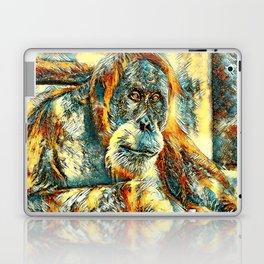AnimalArt_OrangUtan_20180203_by_JAMColorsSpecial Laptop & iPad Skin