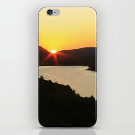 Sunrise over Lake of the Clouds iPhone Skin