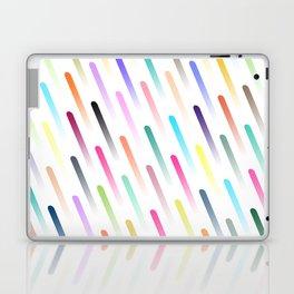 Neon Rain Laptop & iPad Skin