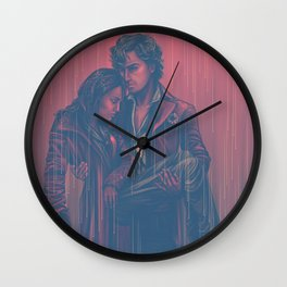 dead hearts are everywhere Wall Clock