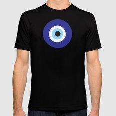 Evil Eye Black MEDIUM Mens Fitted Tee