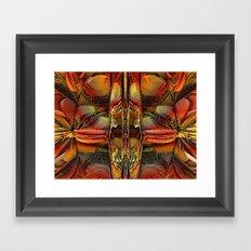 Fractal Energy Framed Art Print