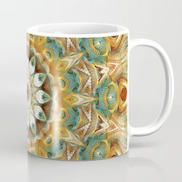 Flower Of Life Mandala (Sundial) Coffee Mug