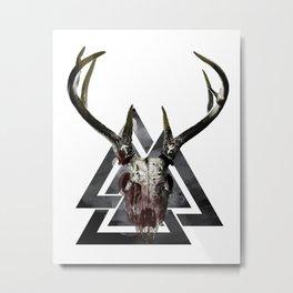 Odin's Fury Metal Print