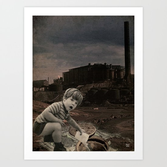 watch out for vandals Art Print