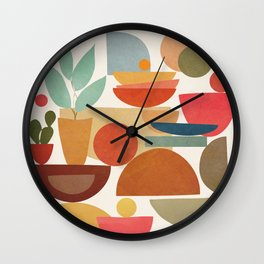 Modern Abstract Art 78 Wall Clock