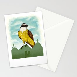 Bichofue cali // great kiskadee colombia Stationery Cards