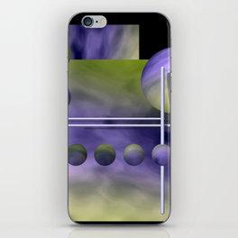 liking geometry -3- iPhone Skin