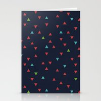 snowboarding Stationery Cards featuring TRY ANGLES / snowboarding by DANIEL COULMANN