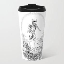Death and Harmonica Travel Mug
